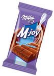 1901 tarihindeki ilk Milka çikolatasının paketi de lilaydı ve üzerinde doğal Alp Dağları...